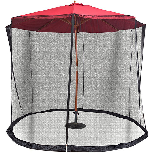 9' to 10' Outdoor Umbrella Table Screen Mosquito Bug Insect Net