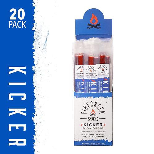FireCreek Snacks - Kicker 1oz Snack Stix - 20ct