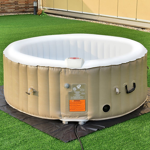 Goplus Portable Inflatable Bubble Massage SPA