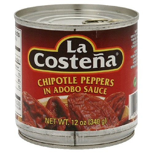 La Costena Chipotle Adobo Sauce, 12-Ounce Cans (Pack of 12)