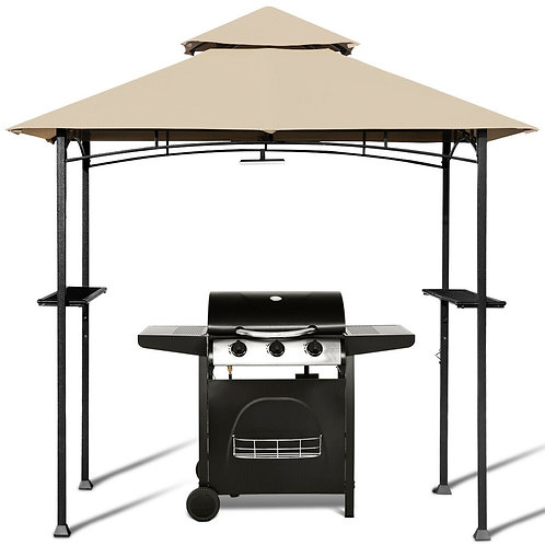8'x 5'Outdoor Patio Barbecue Grill Gazebo