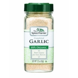Spice Hunter Garlic, Granulated, Organic (6x2.2Oz)