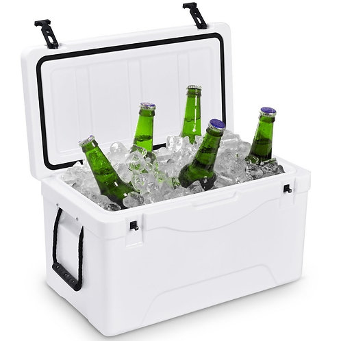 64 Quart Heavy Duty Outdoor Insulated Fishing Hunting Ice Chest