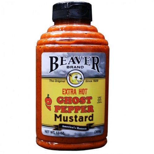 Beaver Ghost Pepper Mustard (6x13 OZ)