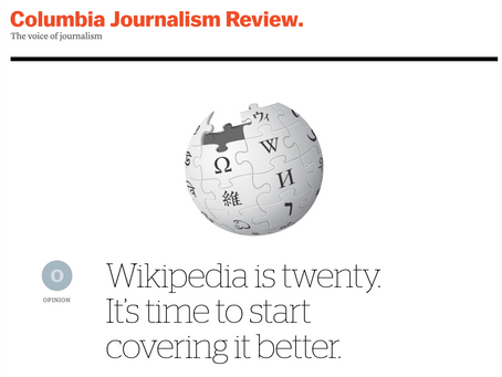 Why we need better coverage of Wikipedia