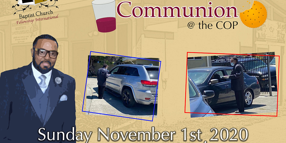Communion Drive Thru