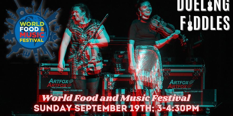 Dueling Fiddles | World Food & Music Festival