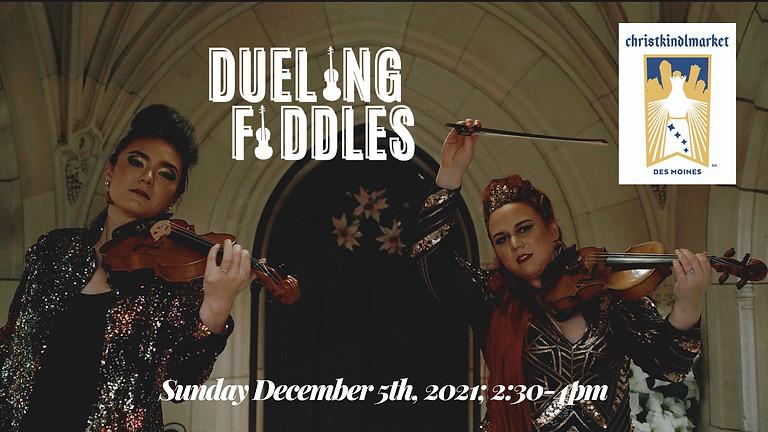 Dueling Fiddles   Christkindlmarket Des Moines