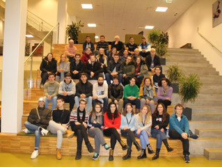 """2º encuentro Erasmus + """"On the trail of a sustainible community in food production"""""""