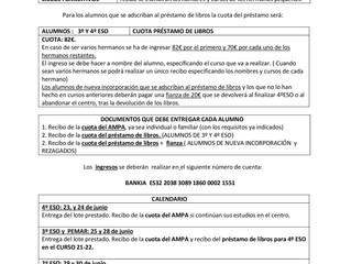 AMPA - IES.FELIPE DE BORBÓN- CEUTÍ - JUNIO 2021