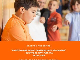 Dramatización de un cuento de Mati Morata sobre Acoso Escolar