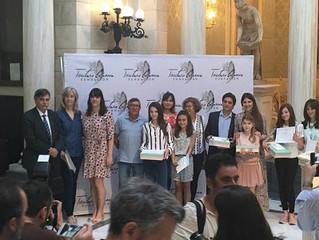 "Entrega de Premios IV Concurso Literario ""Trinitario Casanova"""
