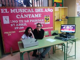 "Venta de entradas Musical ""Cántame"""