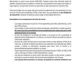 CORREGIDO - ENTRADAS ESCALONADAS SEPTIEMBRE 2020