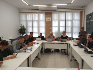 """6º encuentro Erasmus + """"DESIGNDO"""""""