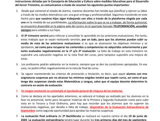 COMUNICADO LUNES 11-5-2020