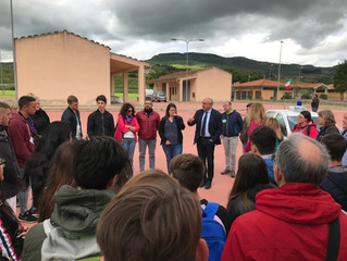 """3º encuentro Erasmus + """"On the trail of a sustainible community in food production"""""""