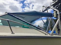 Sea Ray Convertible Top Side Curtains