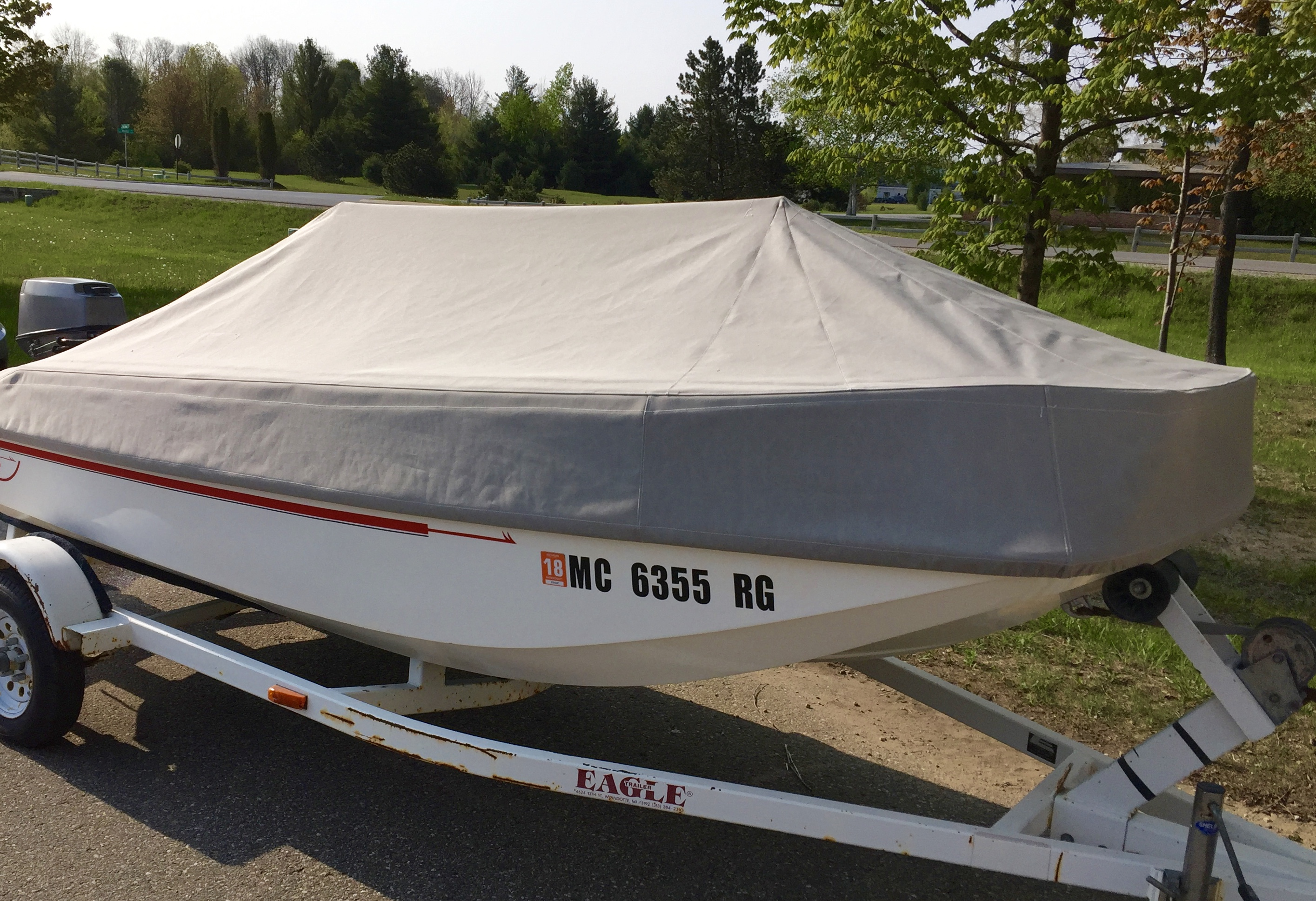 Mooring Cover by Cutwater Canvas