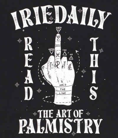 IRIEDAILY PALMISTRY TEE BLACK