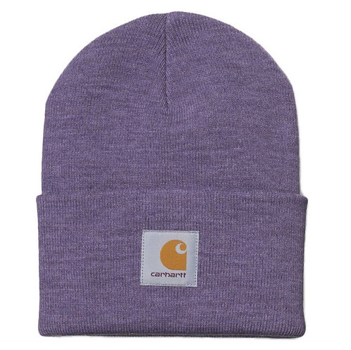 BEANIE CARHARTT - DUSTY MAUVE HEATHER