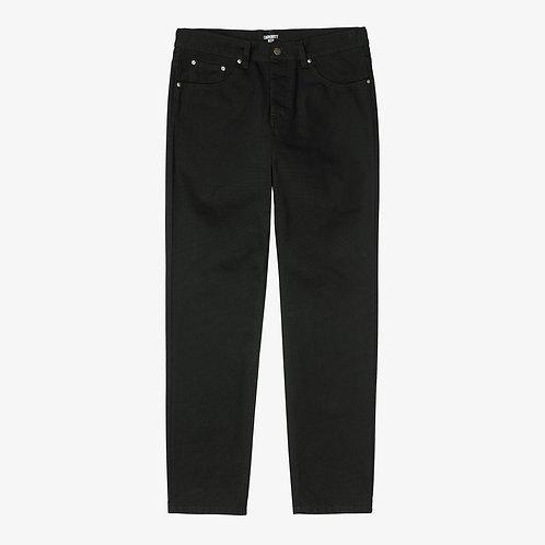 CARHARTT NEWEL PANT - BLACK RINSED