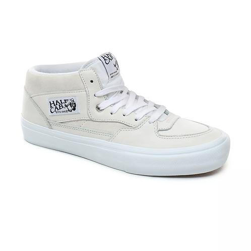 VANS HALF CAB PRO - WHITE