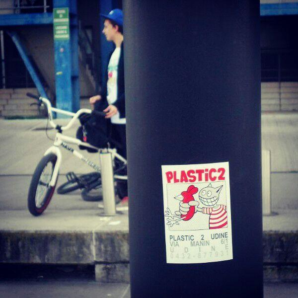 Sticker Plastic 2 udine