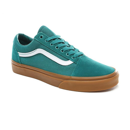 VANS OLD SKOOL - QUETZAL GREEN/GUM*