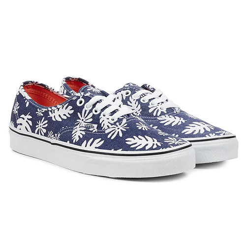 VANS AUTHENTIC - WASHED KELP NAVY WHITE