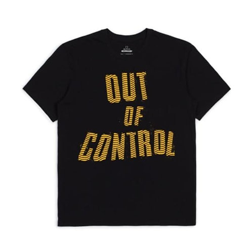 BRIXTON X STRUMMER - OUT OF CONTROL - BLACK