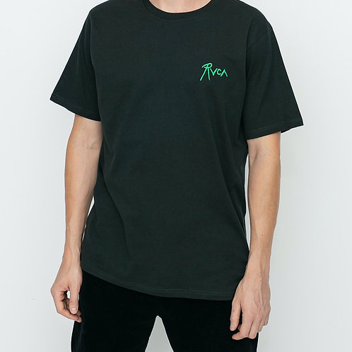 RVCA T-SHIRT - PIRATE BLACK