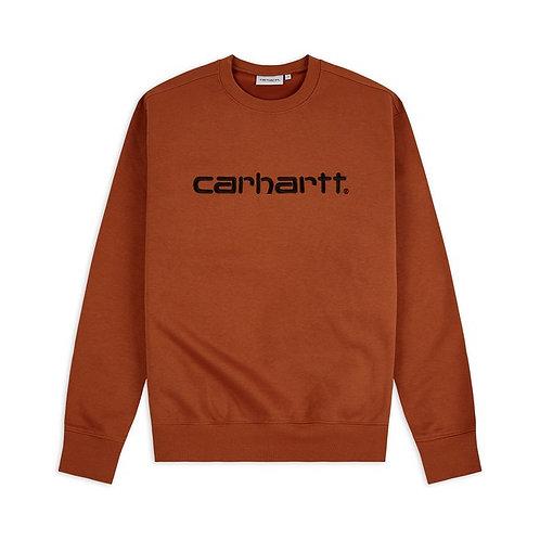 CARHARTT - SWEATSHIRT - CINNAMON BLACK