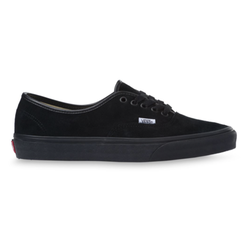 VANS AUTHENTIC PIG SUEDE - BLACK/BLACK
