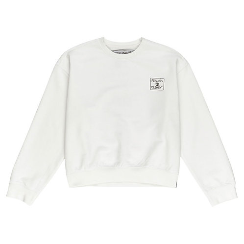 ELEMENT PEANUTS PAGE CREW WHITE