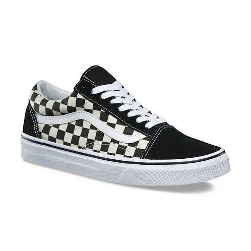 VANS OLD SKOOL - BLACK/WHITE (PRIMARY CHECK)*