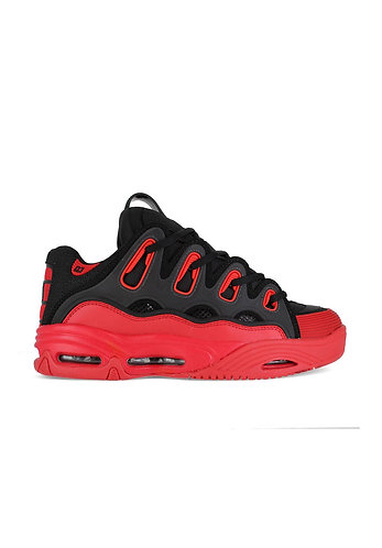 OSIRIS D3 BLACK/RED/RUM