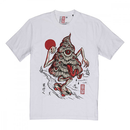 ELEMENT TREE GHOST T SHIRT -WHITE*