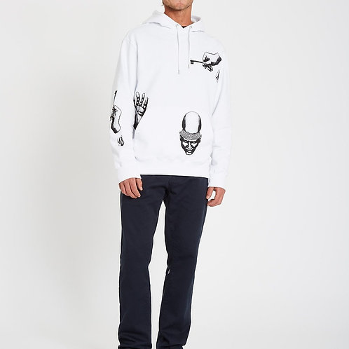 VOLCOM FA FLEECE WHITE