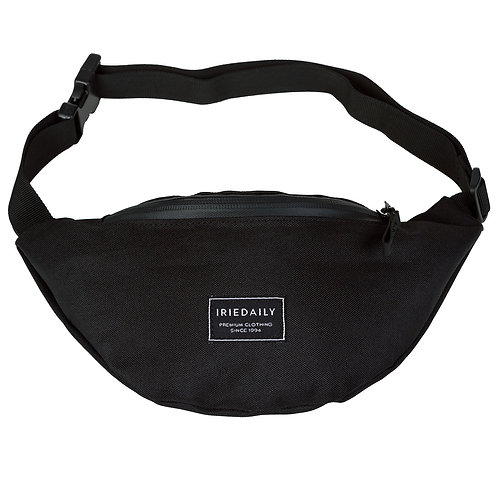 IRIEDAILY - CITY ZEN 2 HIP BAG - BLACK