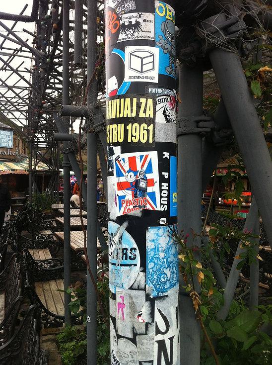 Camden town Sticker Plastic