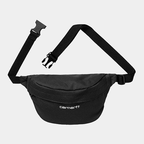 CARHARTT PAYTON HIP BAG - BLACK/WHITE
