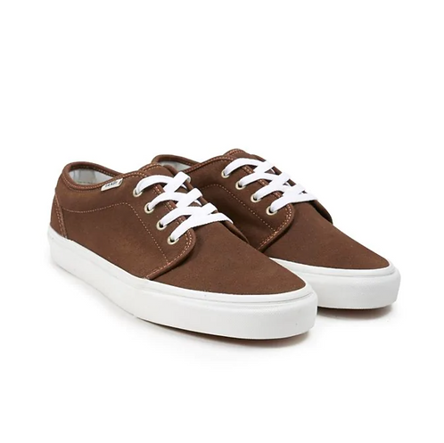 VANS 106 VULCANIZED - DARK EARTH - BLANC