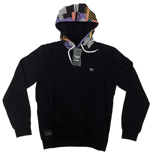 IRIE DAILY FUNKY HOODED - BLACK