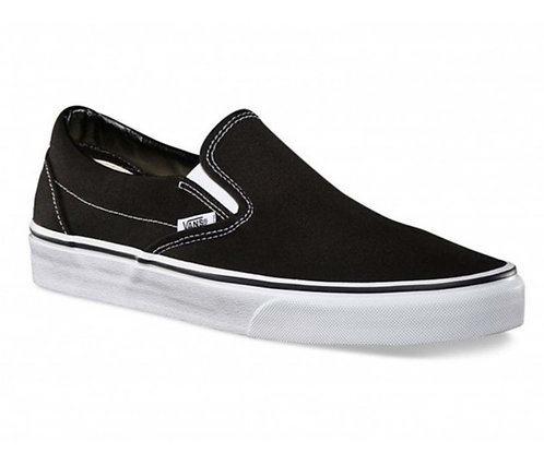 VANS CLASSIC SLIP-ON BLACK*
