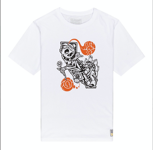 ELEMENT ALTERED STATE T SHIRT - OPTIC WHITE