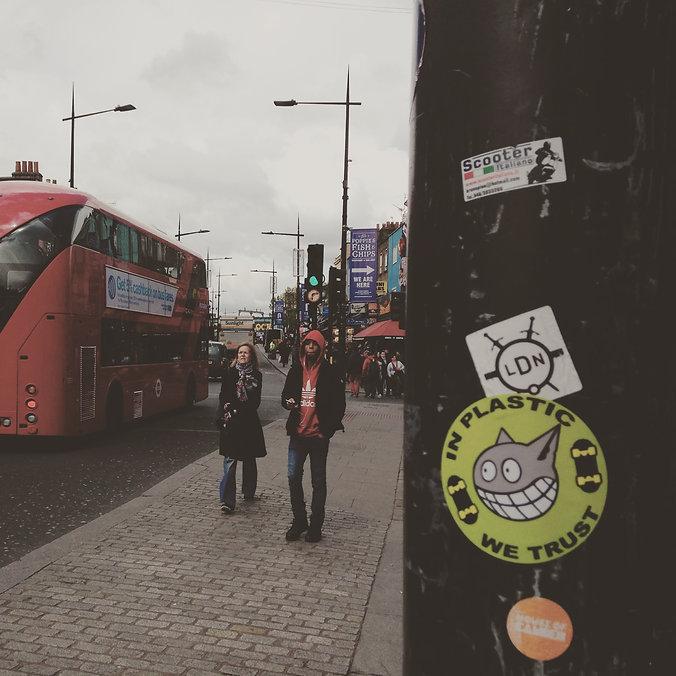Sticker Plastic Camden Town