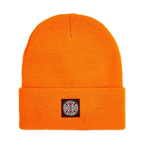 INDIPENDENT LABEL BEANIE - ORANGE