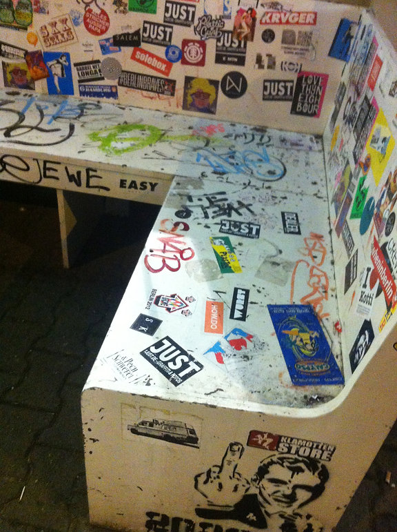 Sticker Plastic - berlin