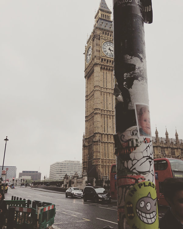 Sticker Plastic Big Ben
